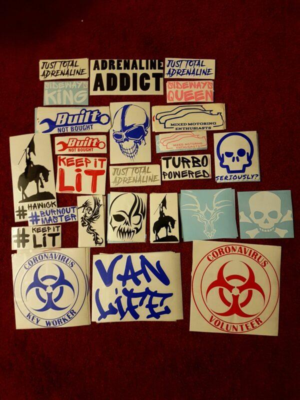 Custom Car Sticker Hawick