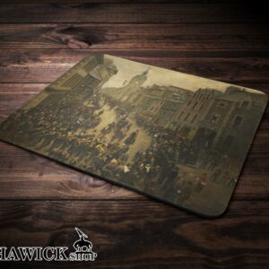 Hawick High Street Common Riding Vintage Mouse Mat