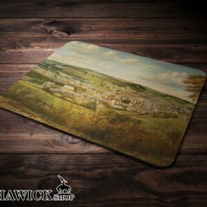 Hawick from Wester Braid Road Mouse Mat