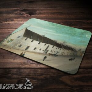 Auld Mid Row Hawick Mouse Mat