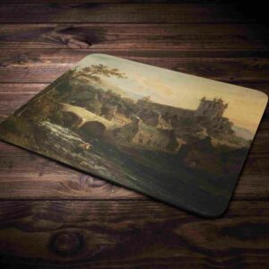 Jedburgh Abbey Painting Mouse Mat