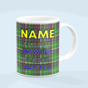 Custom Hawick Day Oot Tartan Mug